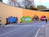 Graffitari a Benevento