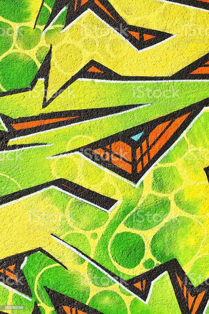Graffiti Background royalty-free stock photo