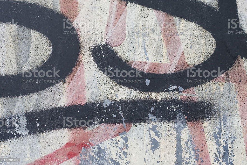 Graffiti detail 3 royalty-free stock photo