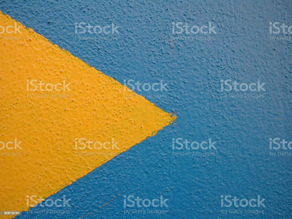graffiti flag royalty-free stock photo