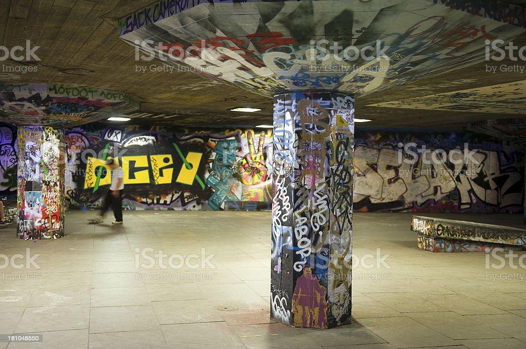 Graffiti paint royalty-free stock photo