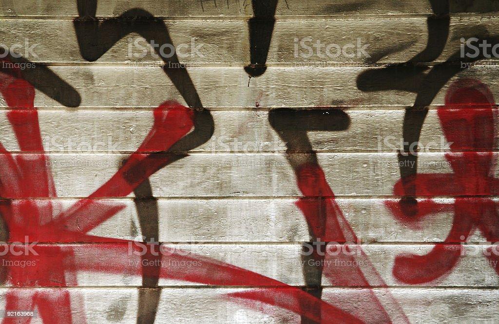Graffiti  (Series) royalty-free stock photo