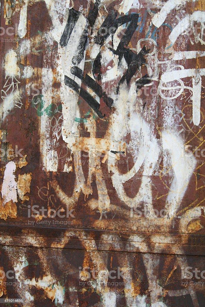 Graffiti  /  Urban Scrawl royalty-free stock photo