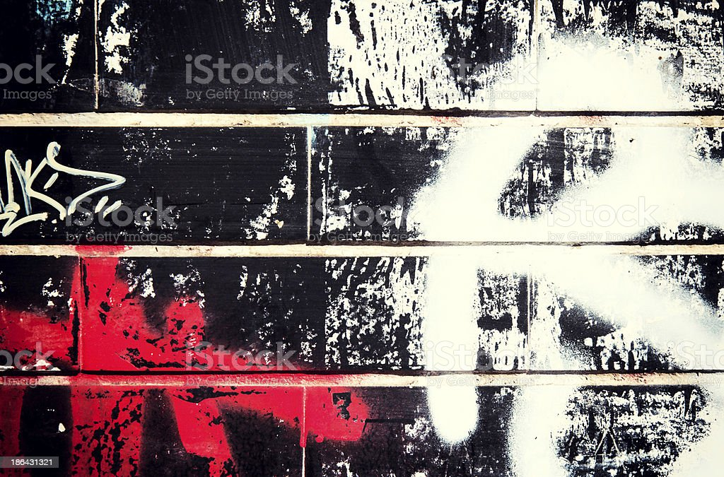 Graffity background stock photo
