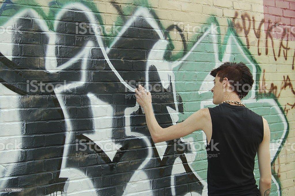 Grafiti stock photo