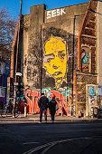 Grafitti in Stokes Croft, Bristol