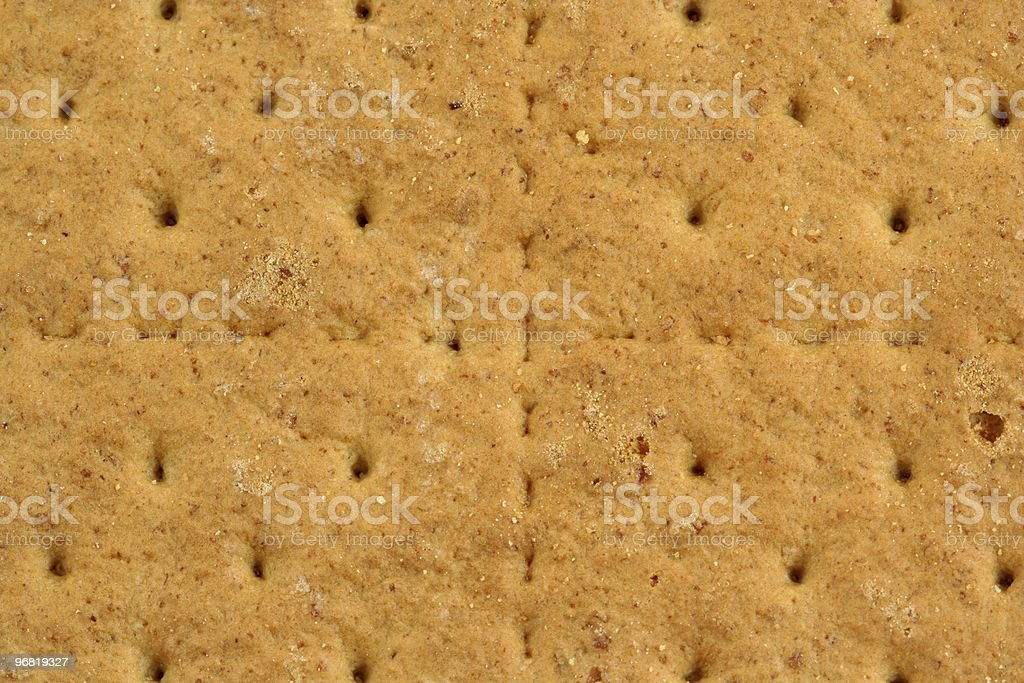 Graham cracker background stock photo