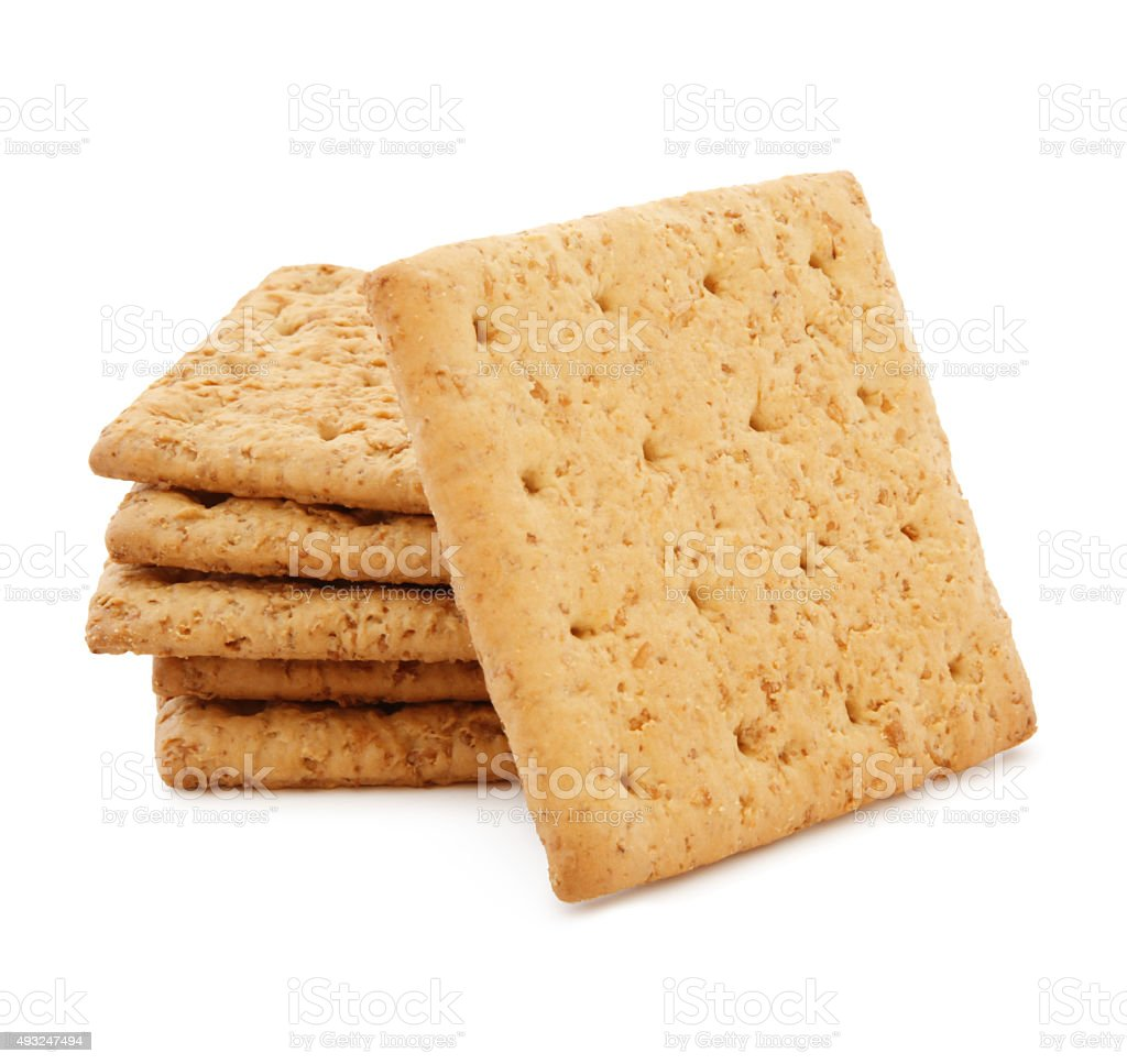 Graham Crackers (with path) stock photo