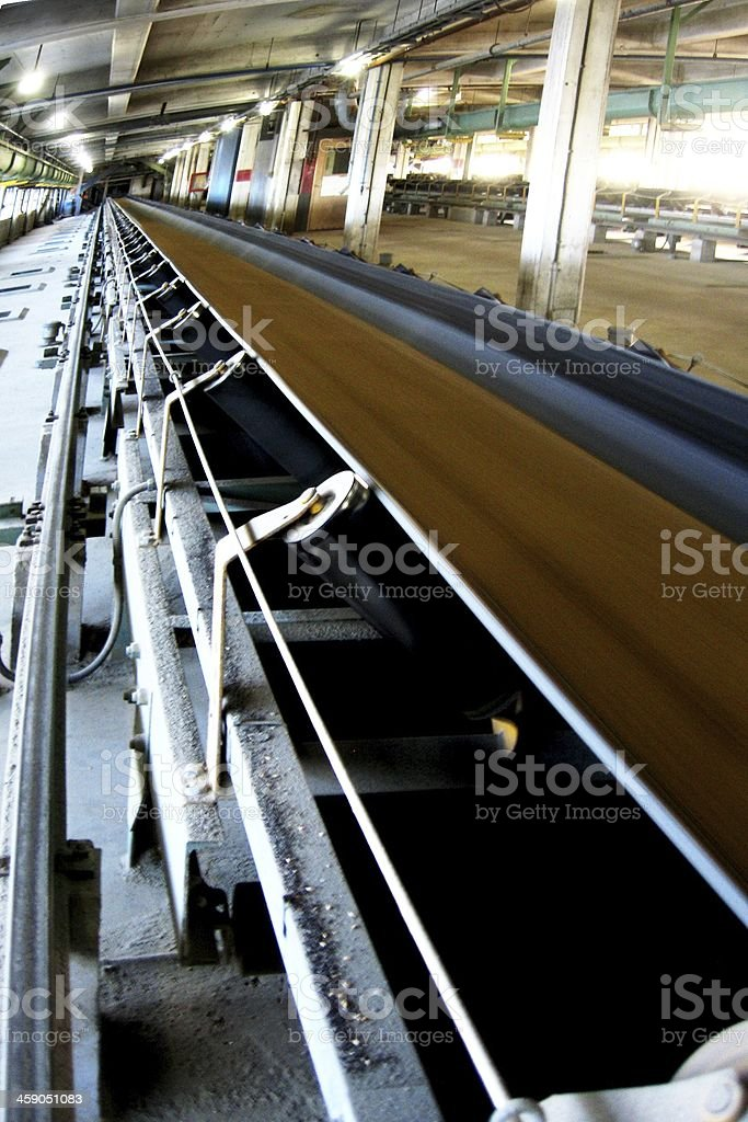 Grain Conveyor stock photo