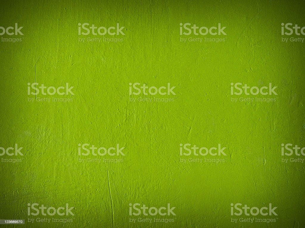 Grain dark green paint wall stock photo