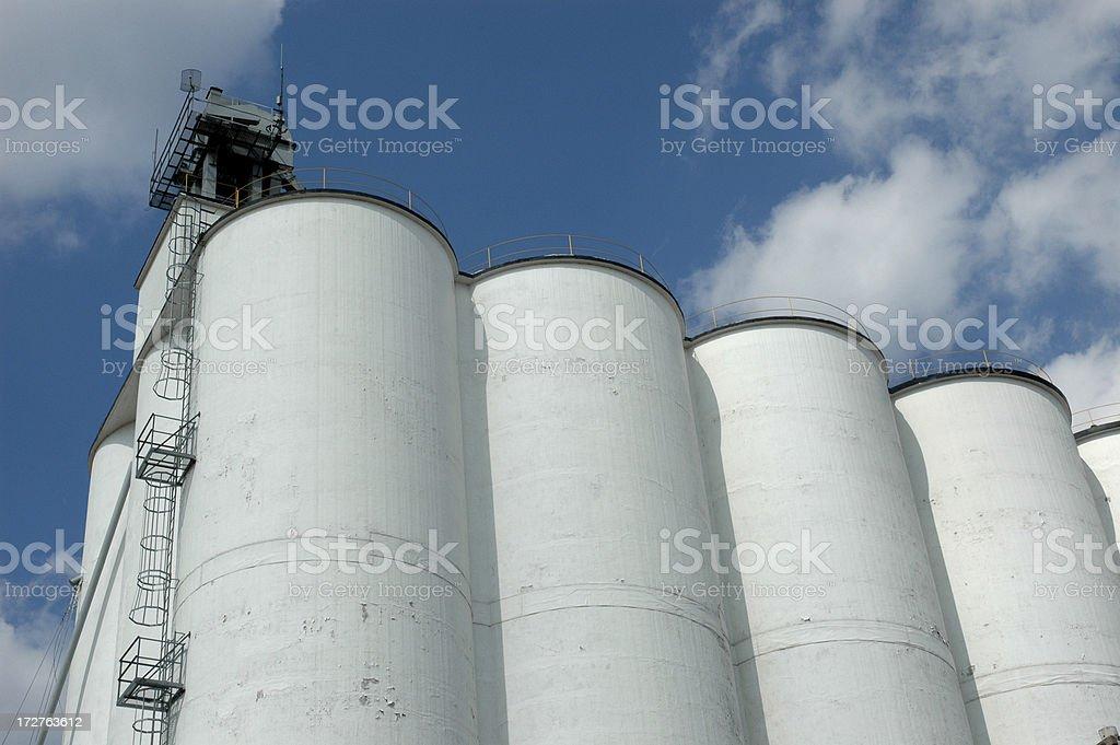 Зерновой элеватор Стоковые фото Стоковая фотография