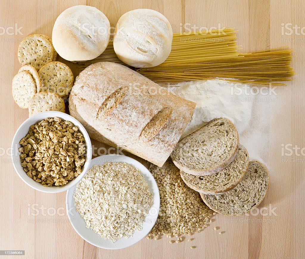 Grain Food Group stock photo