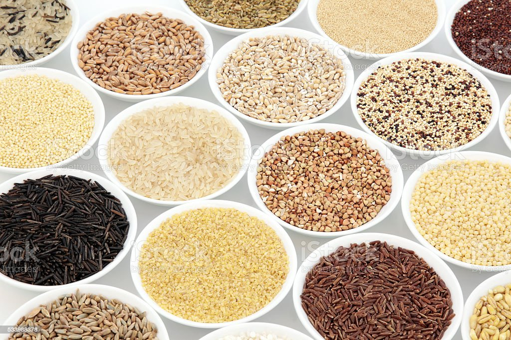 Grain Food Selection stock photo