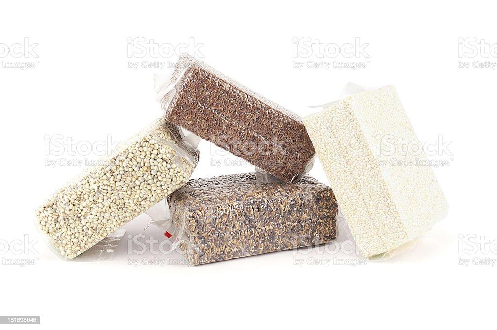Grain in Plastic royalty-free stock photo