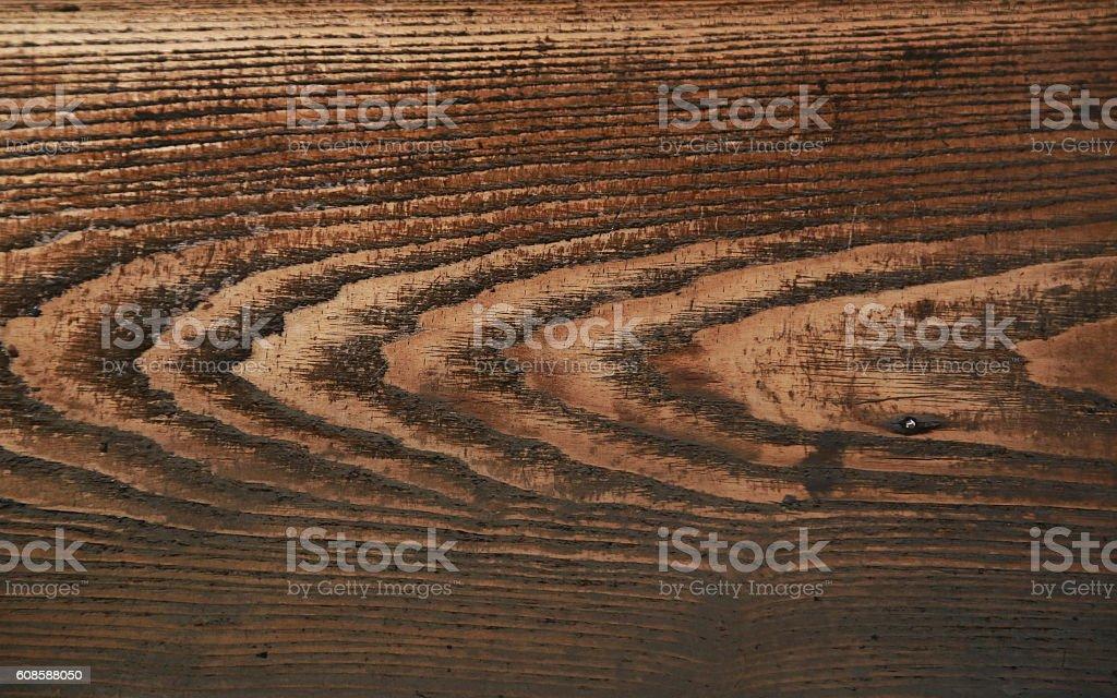 Grain of wood design of the floor board foto de stock libre de derechos