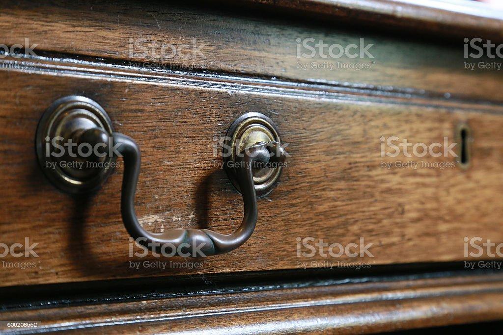grain of wood design of the old furniture. foto de stock libre de derechos