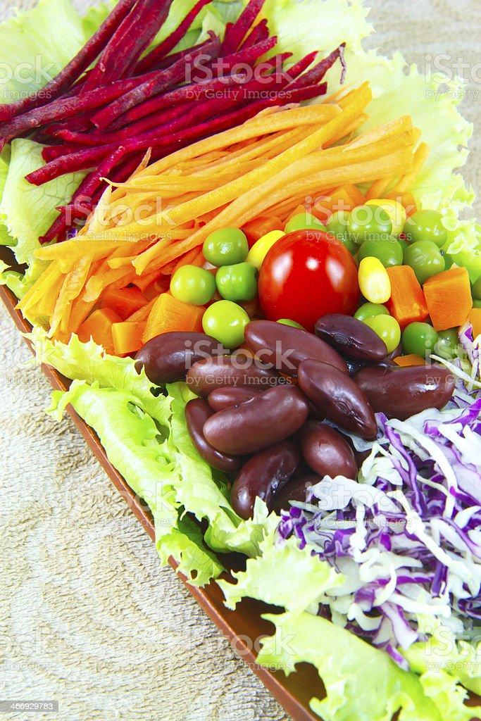 Grain salad royalty-free stock photo