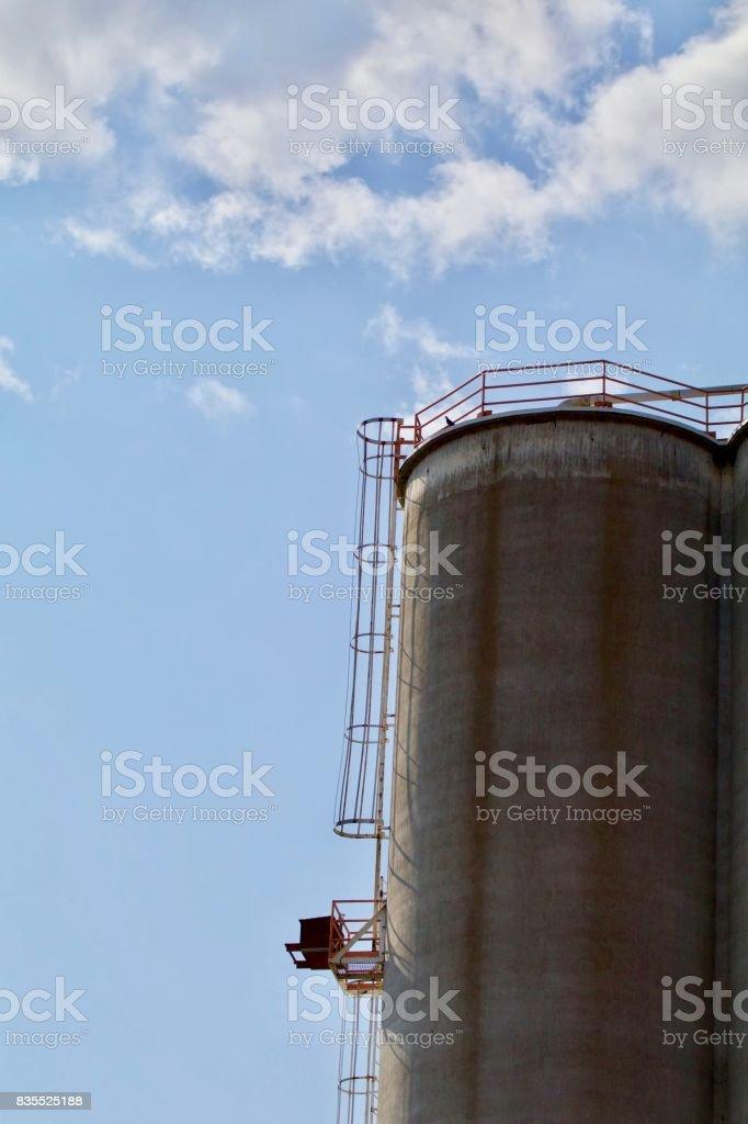Grainary stock photo