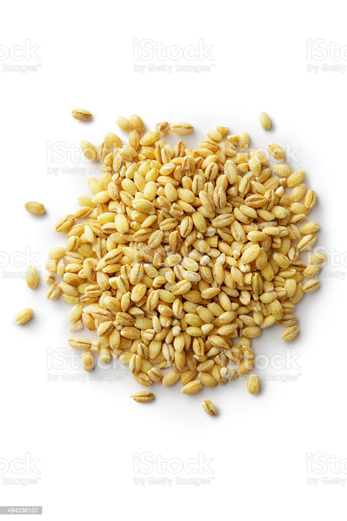 Grains: Barley stock photo