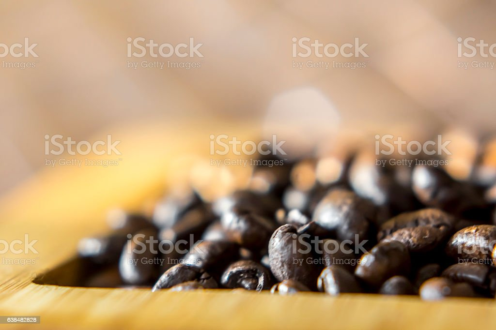 Grains de café stock photo