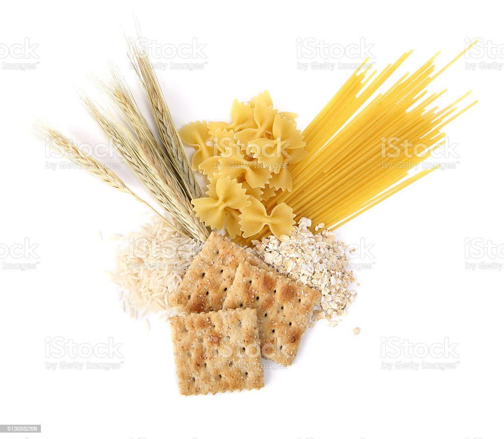 Grains Food Group stock photo