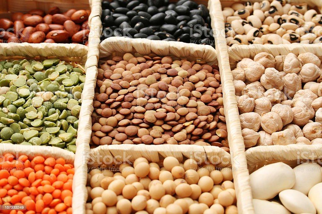 Grains stock photo