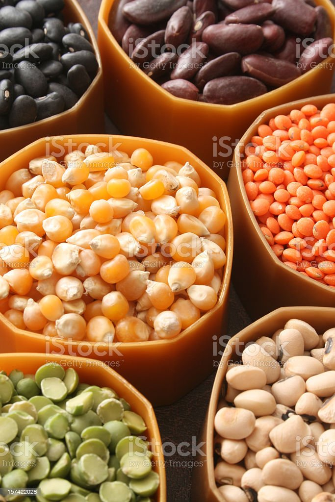 Grains variety royalty-free stock photo