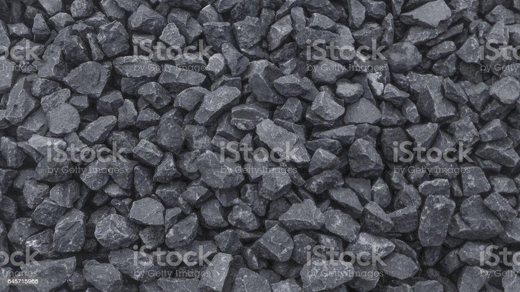 Grainy, building stone, rubble. stock photo