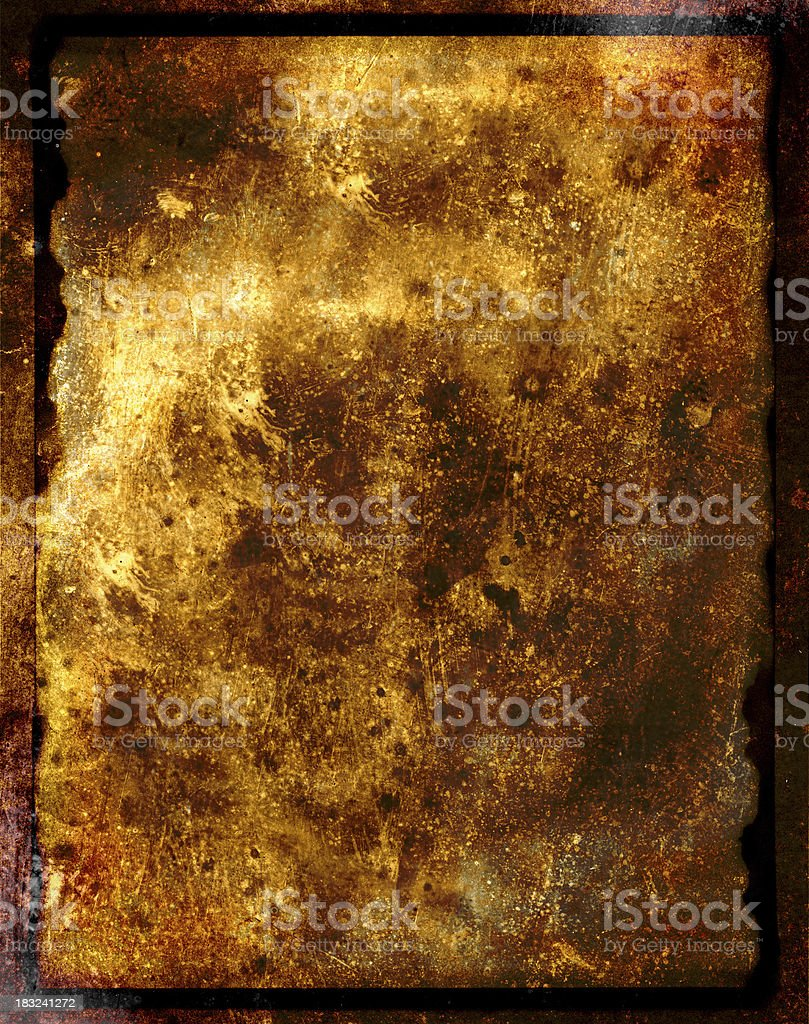 grainy paper and metal grungy background stock photo