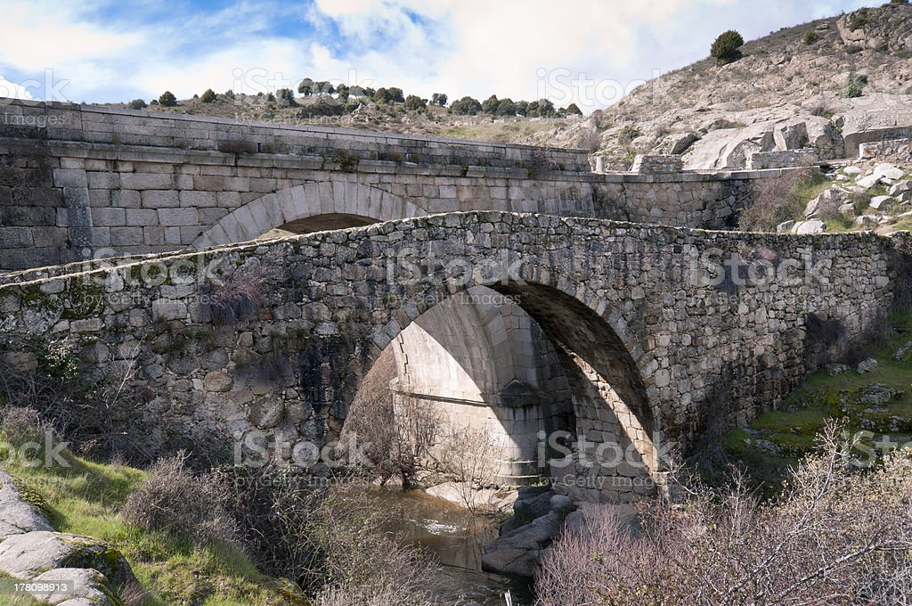 Grajal Bridge stock photo