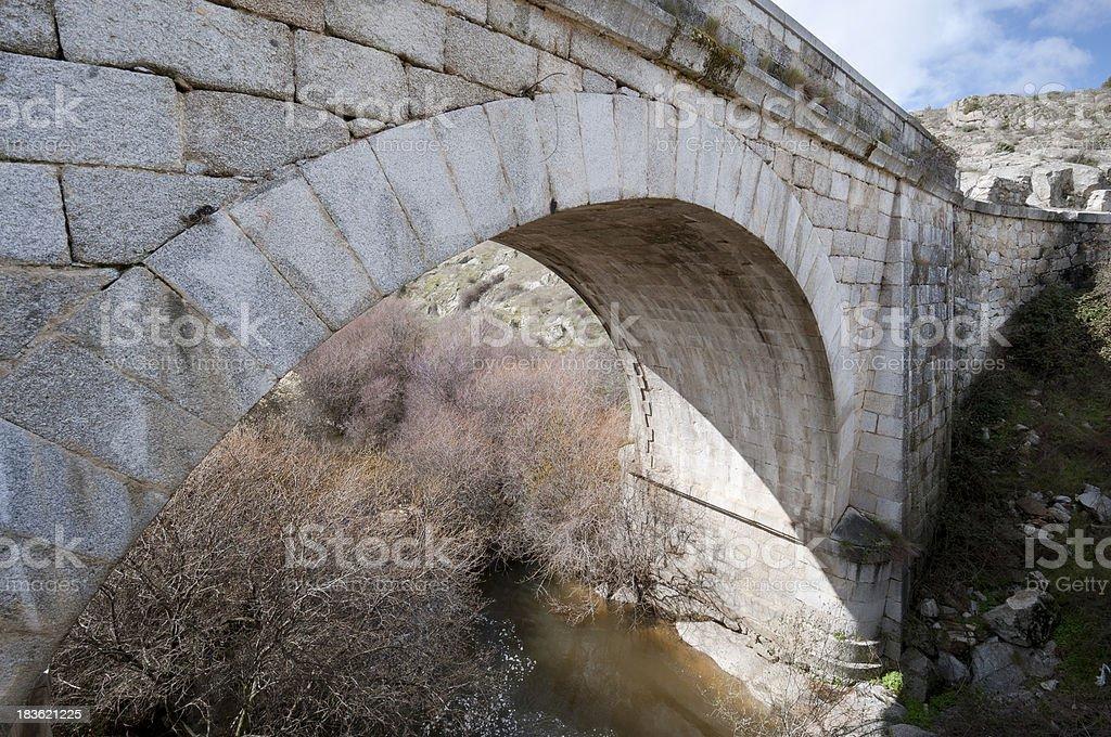 Grajal Bridge royalty-free stock photo