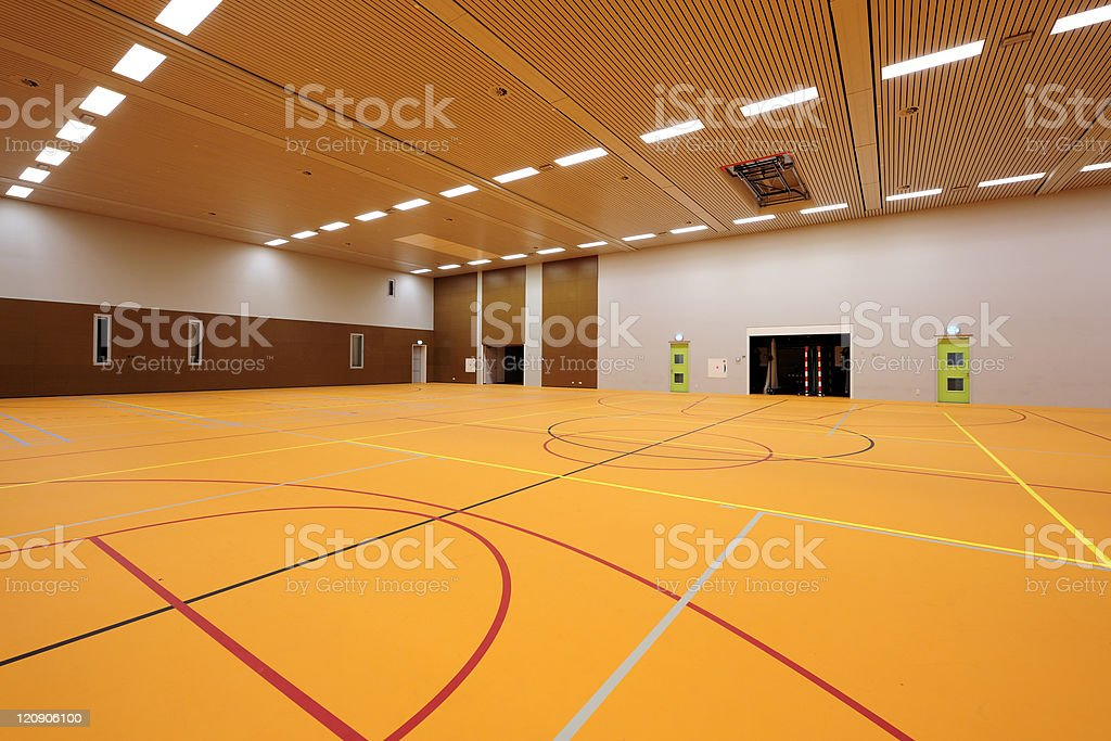 Gymnasium royalty-free stock photo