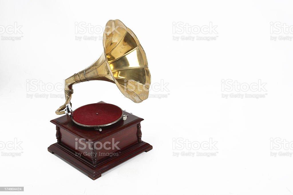 gramofon stock photo