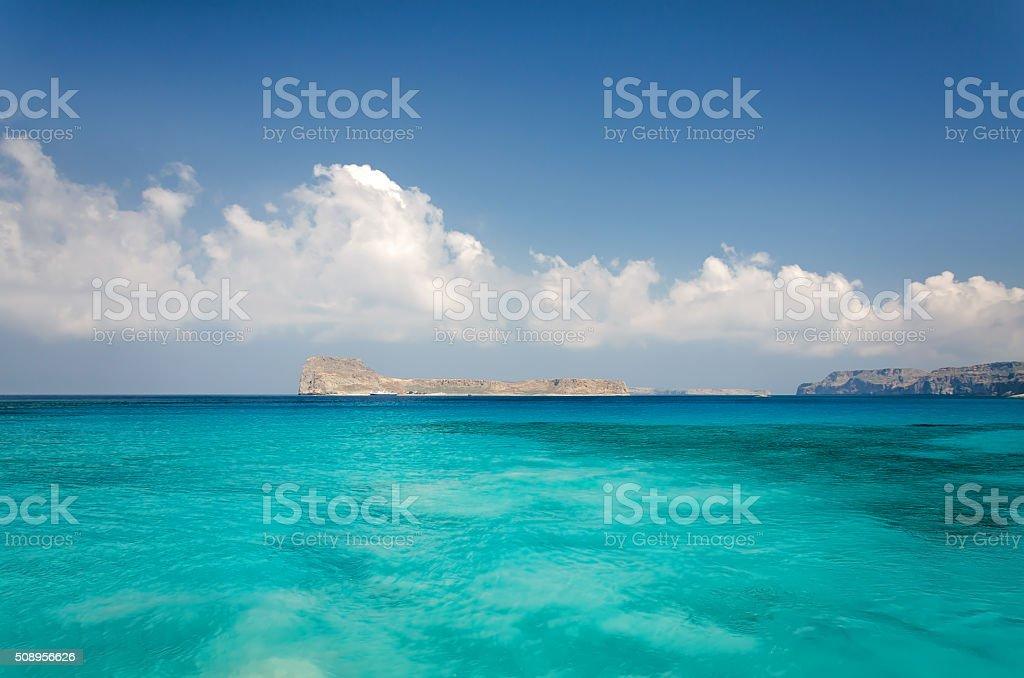 Gramvousa Island, Greece stock photo