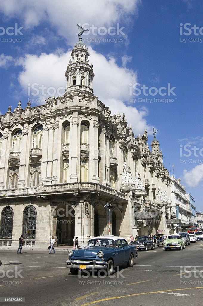 Gran Teatro, Havana stock photo