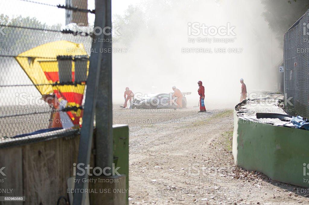 C.I. Gran Turismo car racing stock photo