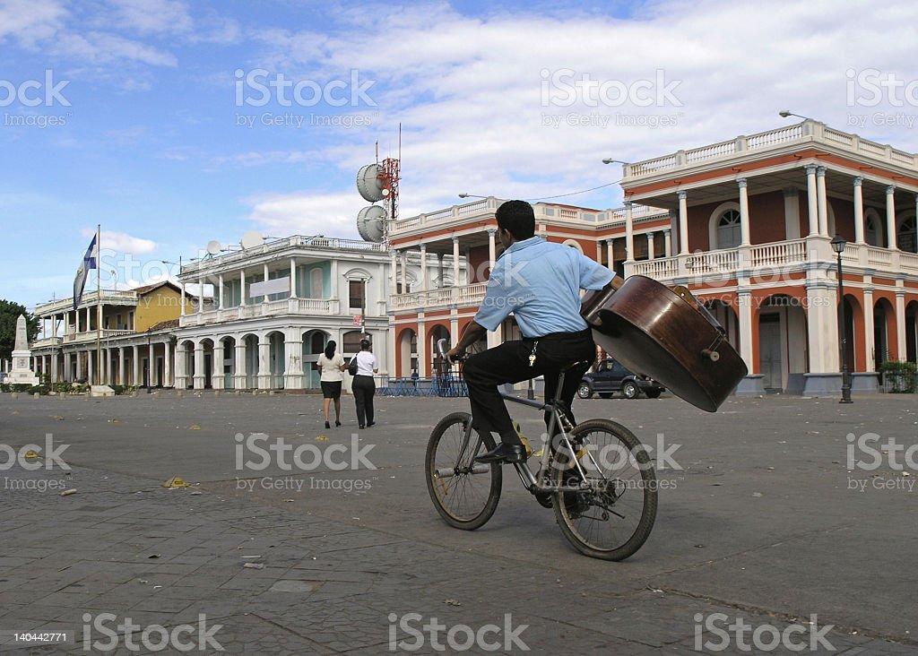 granada nicaragua stock photo
