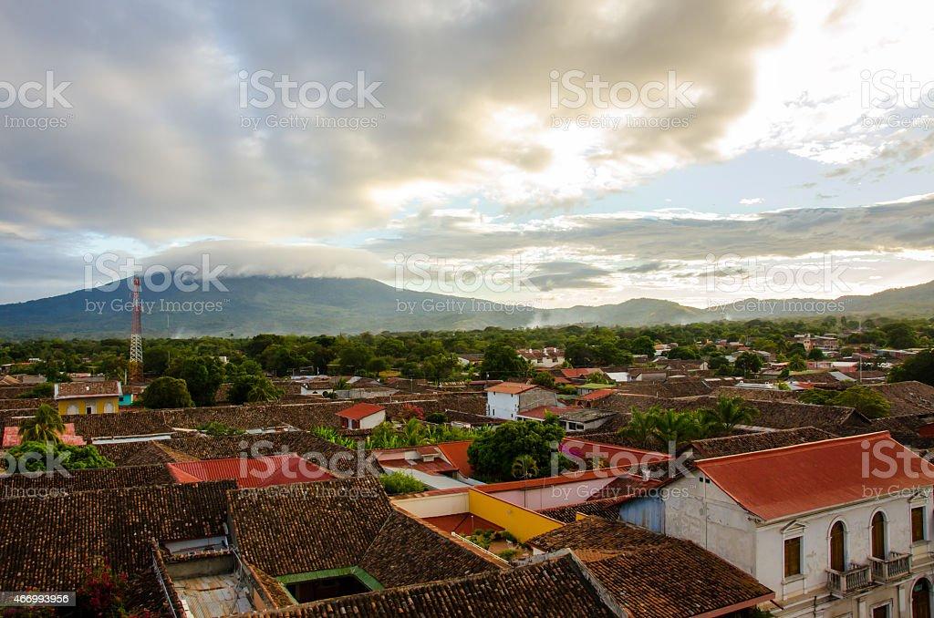 Granada - Nicaragua stock photo