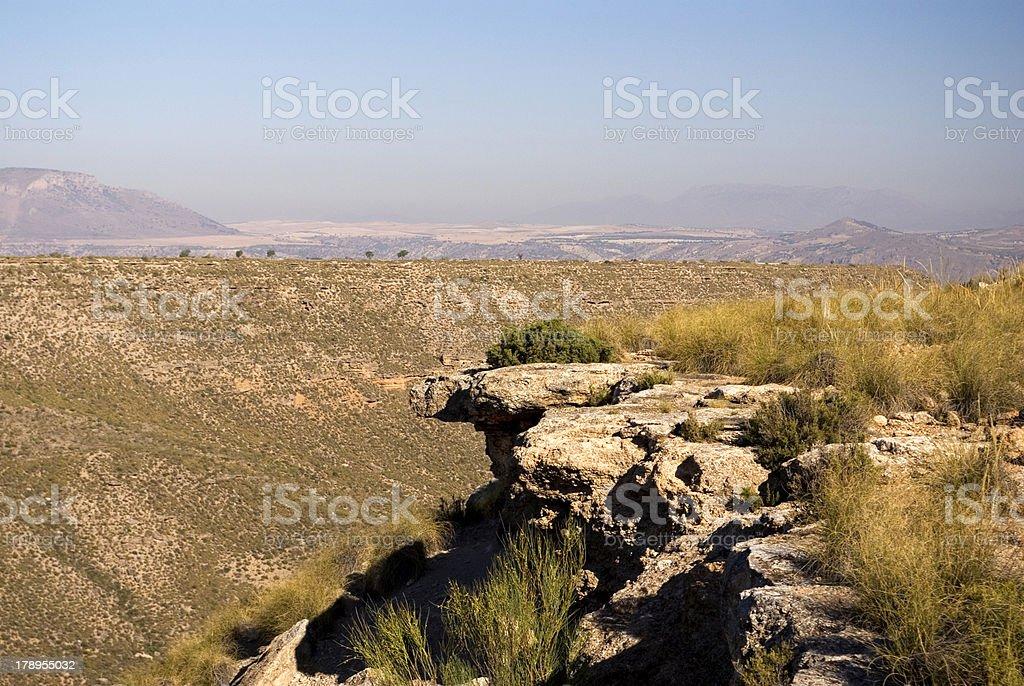 Barranco de Granada royalty-free stock photo