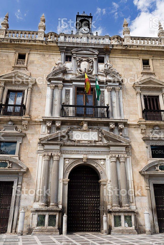 Granada Royal Chancery stock photo