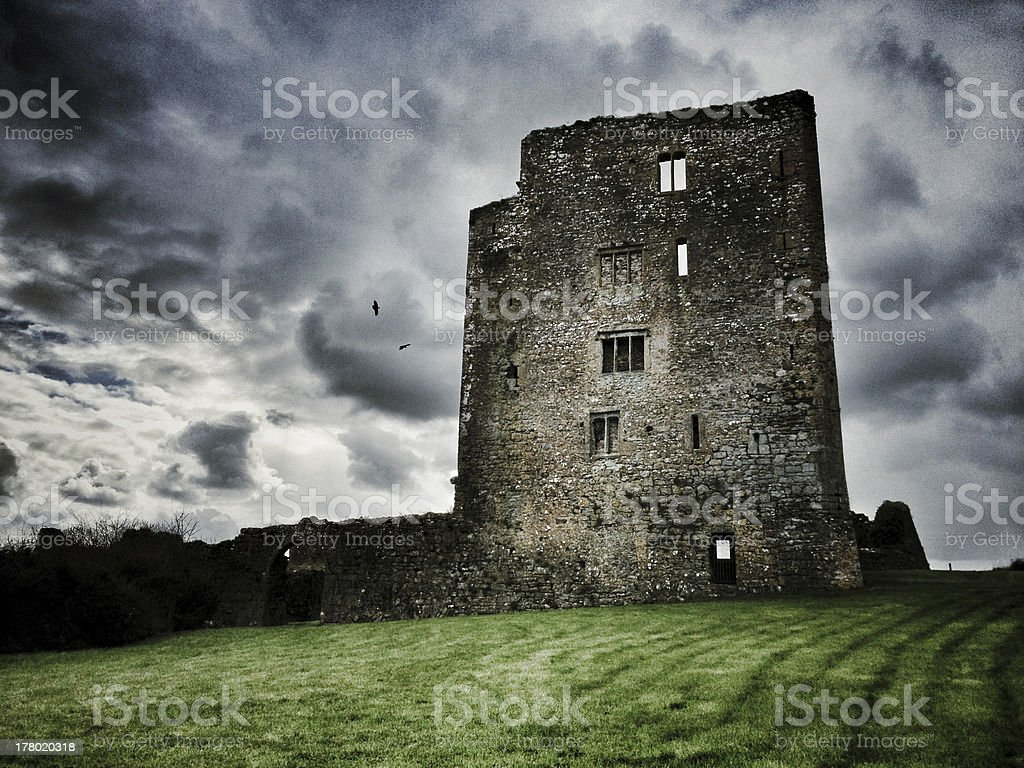 Granagh Castle stock photo
