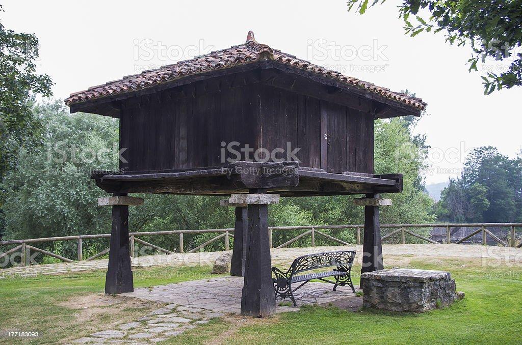 granary royalty-free stock photo
