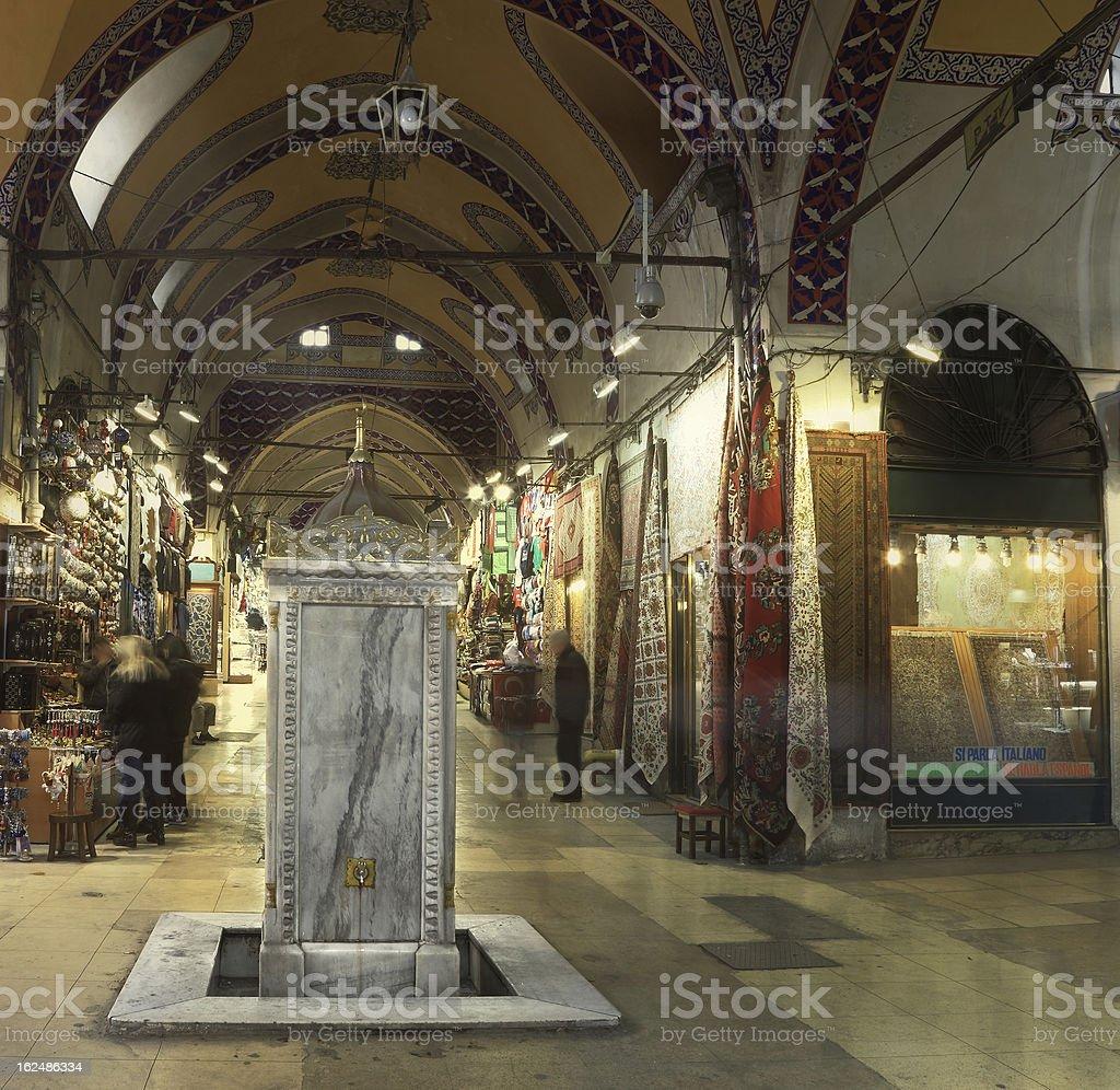 Grand Bazaar,  Istanbul, Turkey royalty-free stock photo