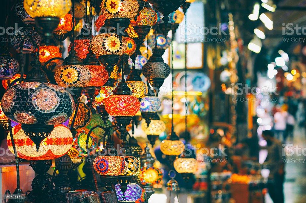 Grand Bazaar,  Istanbul, Turkey stock photo