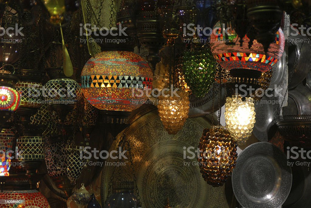 Grand Bazaar royalty-free stock photo