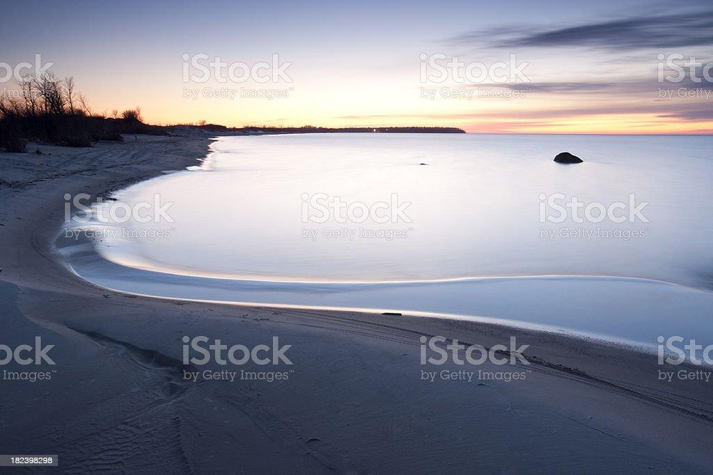 Grand Beach Manitoba royalty-free stock photo