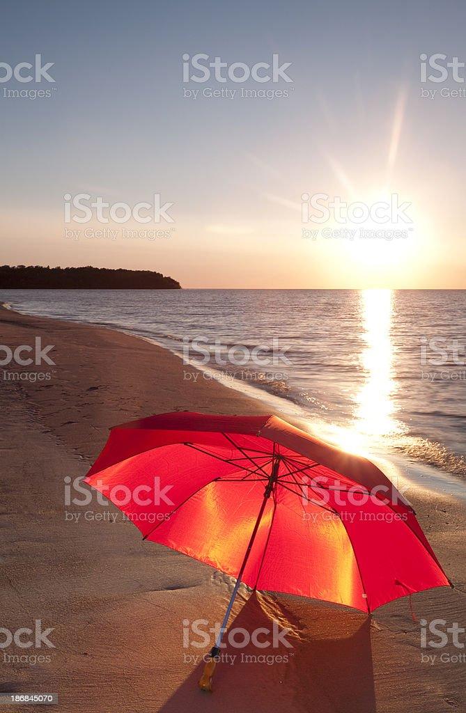 Grand Beach Manitoba stock photo