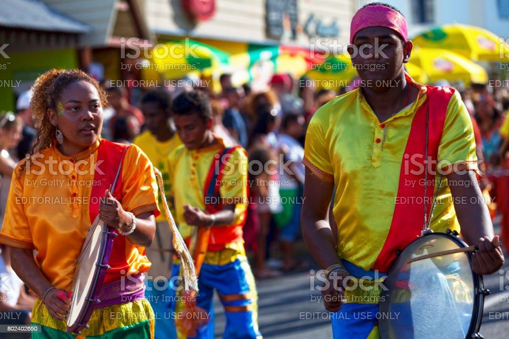 Grand Boucan carnival stock photo