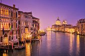 Grand Canal and Santa Maria della Salute in Venice