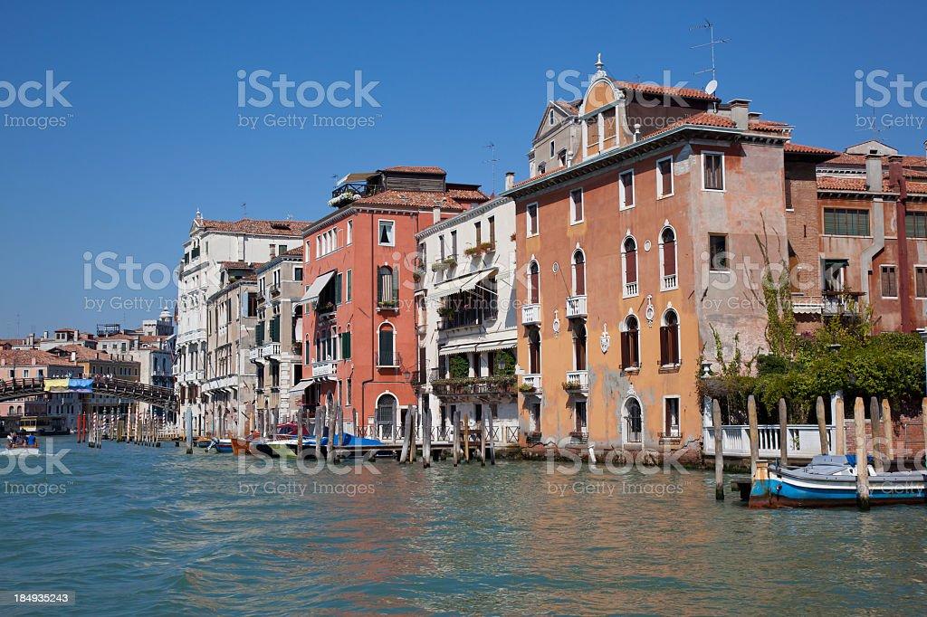 Grand Canal Gondolas, Venice, Italy royalty-free stock photo